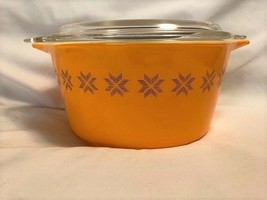 Pyrex Mid Century Town & Country Lidded Casserole Dish - $35.00