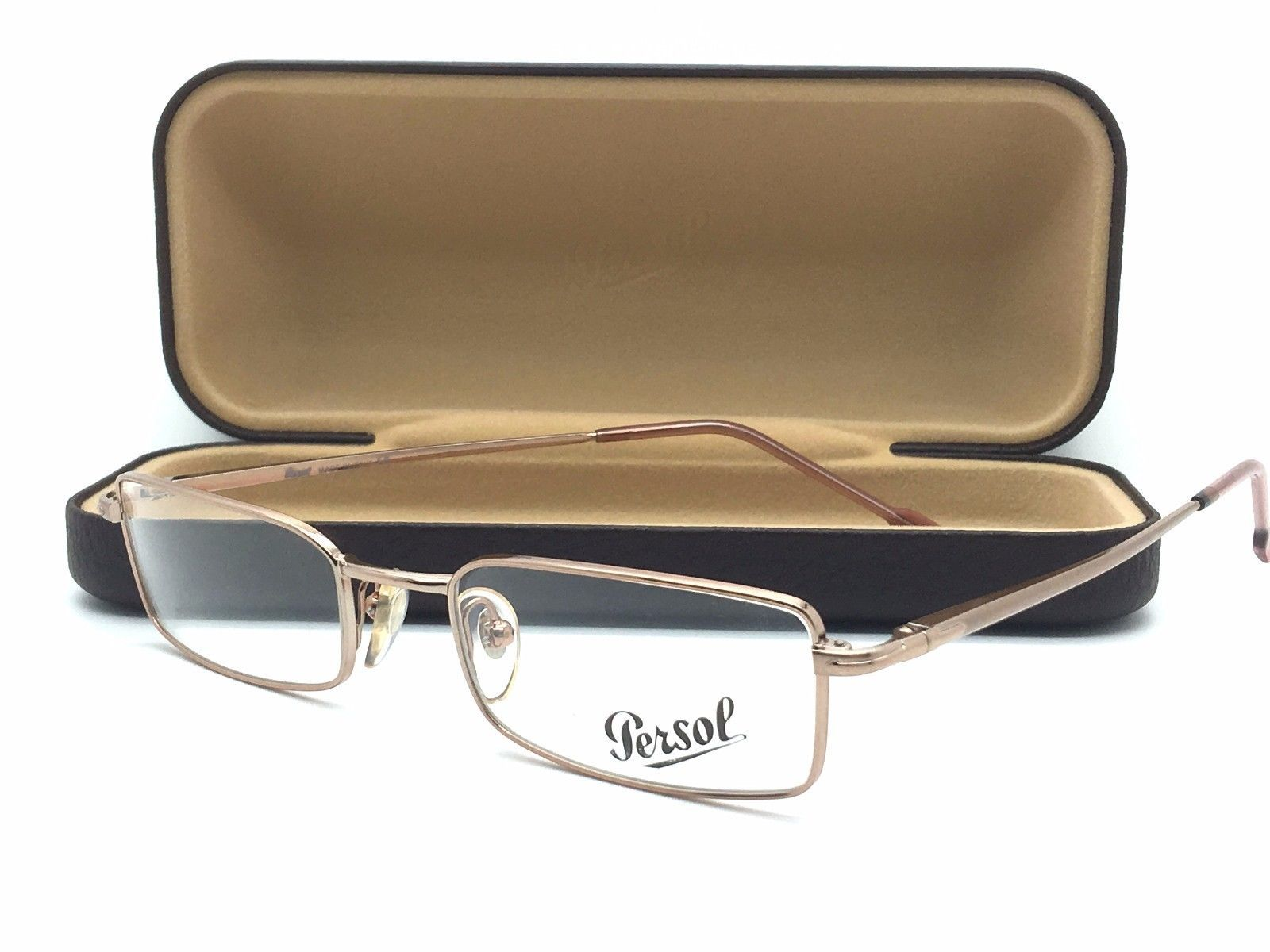 973506283cd54 Persol Gold metal rose tips Eyeglasses po and 50 similar items