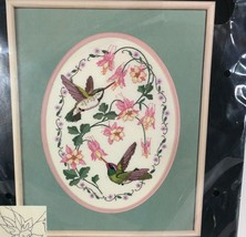 Dimensions Hummingbirds and Columbine No Count Cross Stitch Kit 3981 Vin... - $19.30