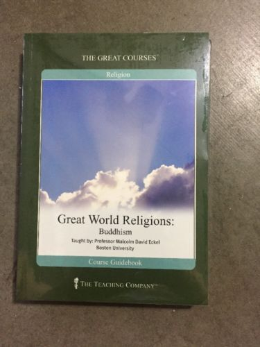 Great World Religions: Buddhism (2003 DVD & Guidebook) The Teaching Company NEW