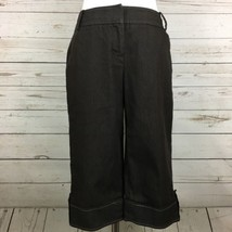 Ann Taylor Loft Cropped Pants Marisa Women's Size 4 Brown - $19.99