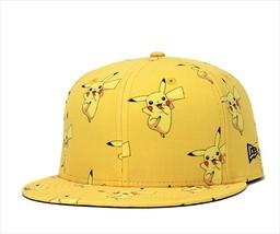 New Era Pokemon collaboration cap 59FIFTY Pikachu Yellow - $90.99