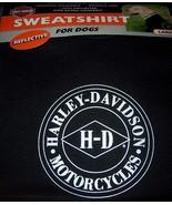 Harley Davidson Motorcycles Sweatshirts for Dogs SZ Large Reflective NEW  - $15.99