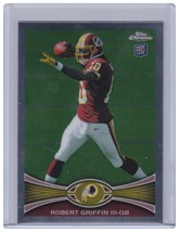 2012 TOPPS CHROME ROBERT GRIFFIN RG3 RC ROOKIE #200 REDSKINS  - $5.77