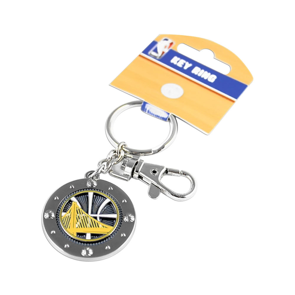 Primary image for NBA Golden State Warriors Team Logo Impact Keychain Key Ring Clip