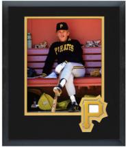 Jim Leyland Pittsburgh Pirates Circa 1990- 11x14 Team Logo Matted/Framed Photo - $42.95