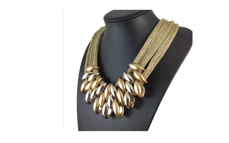 Necklace Choker Women Fashion Accessories Necklace Pendant Vintage jewelry #5