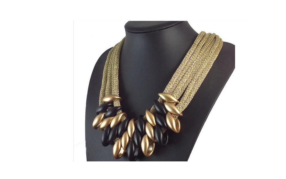 Necklace Choker Women Fashion Accessories Necklace Pendant Vintage jewelry #4
