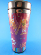 "Stainless Steel Lined Insulated Travel Mug by Ganz 7""  EUC - $6.92"