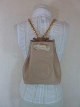 NWT Tory Burch Key Item New Mink Leather Mini Backpack $398.00 - $324.72