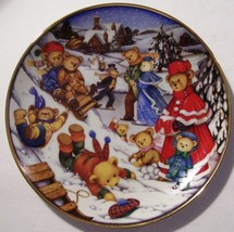 "FRANKLIN MINT LIMITED EDITION ""WINTER FROLIC"" B... - $20.53"