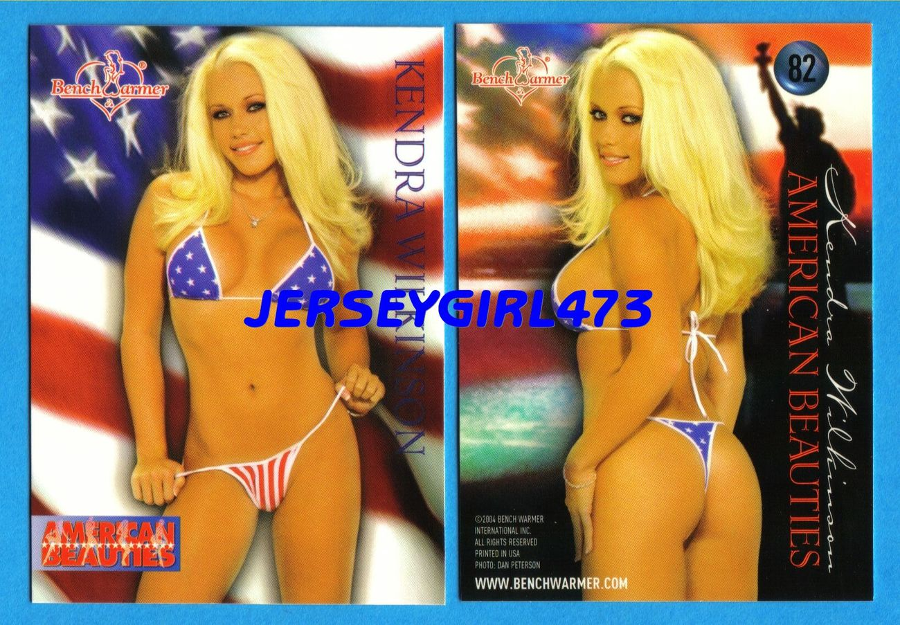 Kendra Wilkinson 2004 Bench Warmer Series 1 American Beauties Card #82 ~ Playboy