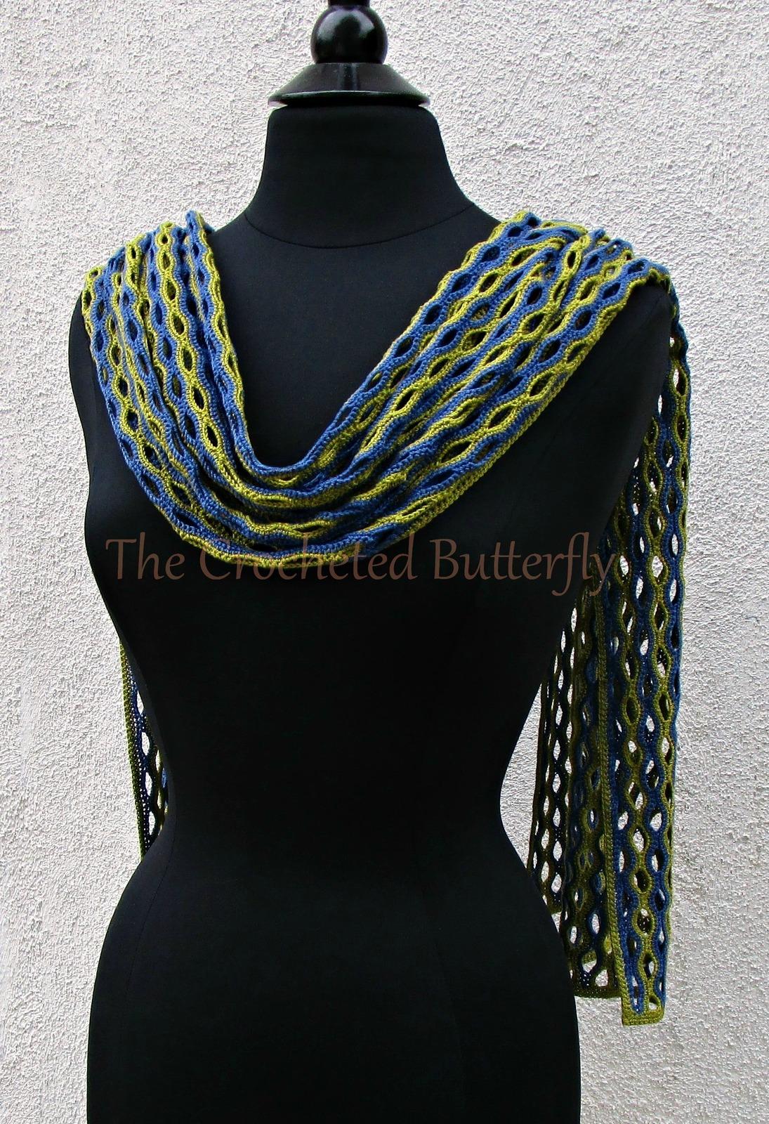 CROCHET PATTERN - Holey Moley Wrap, crochet, women's accessories, fashion