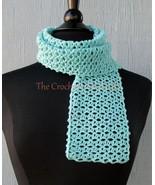 CROCHET PATTERN - Lacy Eyelet Scarf, crochet, women's accessories, fashi... - $3.99