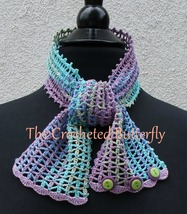 CROCHET PATTERN - Monet  Lace Summer Scarf, crochet, women's accessory, ... - $3.99
