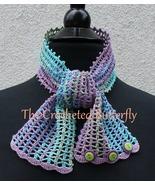 CROCHET PATTERN - Monet  Lace Summer Scarf, crochet, women's accessory, ... - $3.99