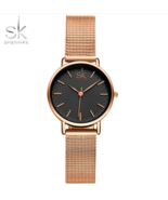 SK® Women Dress Wrist Watches Watchband Luxury Golden Dial Female Style ... - $22.53+