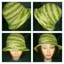 #139  crocheted child size sun hat - $10.00