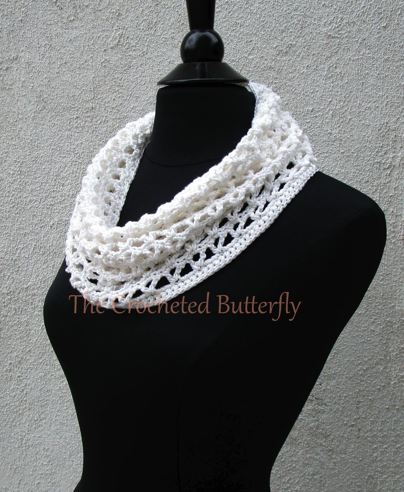 CROCHET PATTERN - V-Stitch Cowl, crochet, women's accessories, fashion, handmade