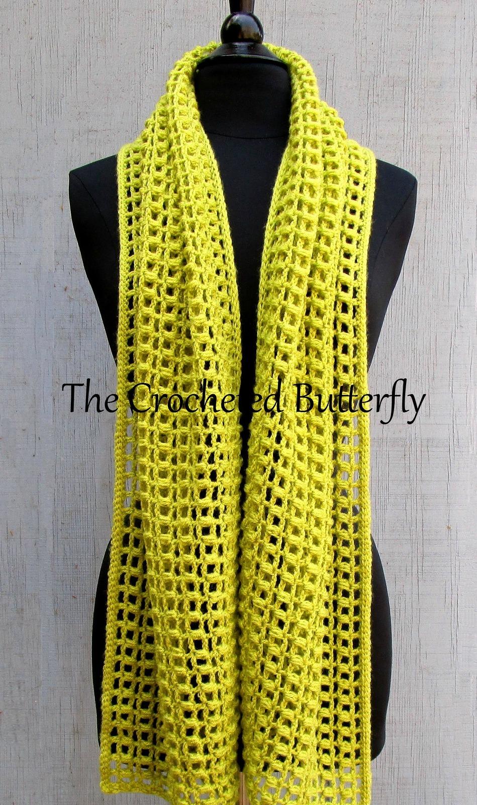 CROCHET PATTERN - Popcorn Shawl, crochet, women's accessories, fashion, handmade