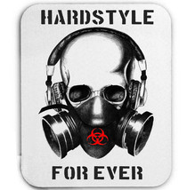 HARDSTYLE IS MY STYLE SKULL DJ - MOUSE MAT/PAD AMAZING DESIGN - $13.64