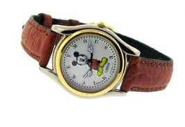 Womens Lorus By Seiko 3D Animated Mickey Mouse Watch 26MM V501-6R00 - $112.50