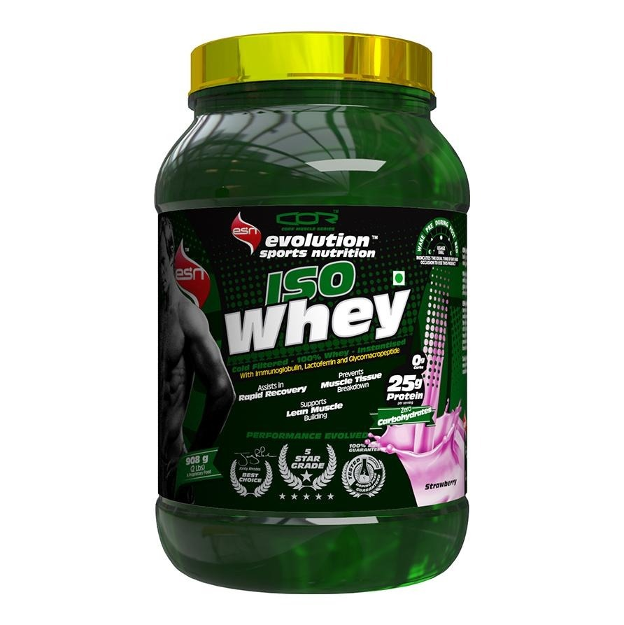 Primary image for ESN Iso Whey, 2 lb Strawberry
