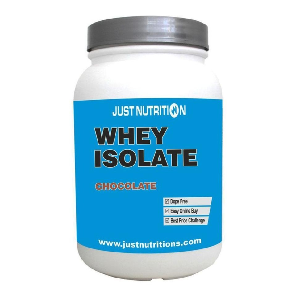 Primary image for Just Nutrition Whey Isolate, 2.2 lb Chocolate