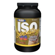 Ultimate Nutrition ISO Sensation 93, 2 lb Chocolate Fudge - $89.95