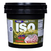 Ultimate Nutrition ISO Sensation 93, 5 lb Strawberry - $229.00