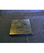 Vintage Oriental Black Wooden Square Stand For Ginger Jar/Urn/Plant - $4.20