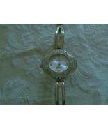 Beautiful Vintage Fiorlini Quartz Clear Rhinestone Watch Japan Movement ... - $17.80