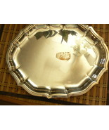 Vintage International Silver Co Silverplate Chippendale # 699 Serving Pl... - $23.01