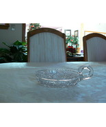 Beautiful Antique Vintage American Brilliant Period Crystal Cut Glass Nappy - $24.74