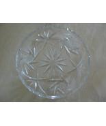 Lovely Vintage American Brilliant Period Cut Glass Hobstars Desert Dish/... - $7.91