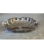 Vintage International Silver Co Chippendale Nut Dish #6384 - $38.21