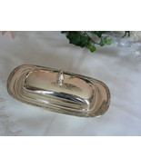 Lovely Vintage International Silver Co Camelle Pattern Silver Plated But... - $24.54