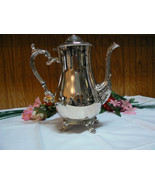 Vintage Lovely International Silver Silverplate Pineapple Top Footed Tea... - $79.19