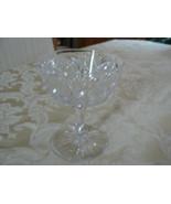 Vintage American Brilliant Period Cut Glass Hobstars Champagne/Sherbert ... - $18.79
