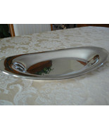 Vintage Oneida Silversmiths Silver Plate Oval Platter - $24.74