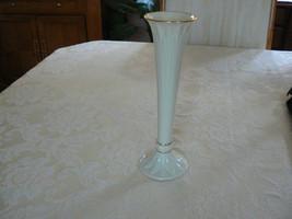 "Lovely Vintage Lenox Gold Trim  "" Tivoli  Collection "" Tall Bud Vase - $14.84"