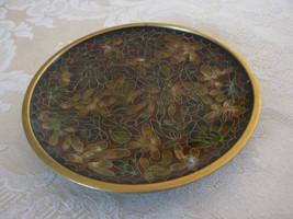 Antique/Vintage Oriental Cloisonne Browns Orang... - $19.78