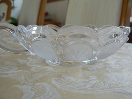 Beautiful Vintage Fostoria Clear Crystal Froste... - $13.45