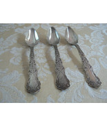 Beautiful Antique Victorian Rogers Grapefruit Spoons Extra Plate July 9,... - $17.37