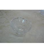 Antique American Brilliant Period Sawtooth Edge Cut Glass Crystal Pedest... - $54.44