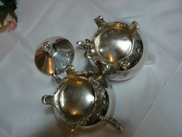 Antique/Vintage F.B. Rogers Silver Co. Silverplate Creamer & Covered Sugar Bowl image 6