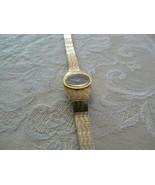 Bulova Goldtone Japan Movement Ladies Wrist Watch - $13.99