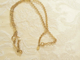 Gorgeous Vintage Avon Goldtone Long Chain Link Necklace - $18.80