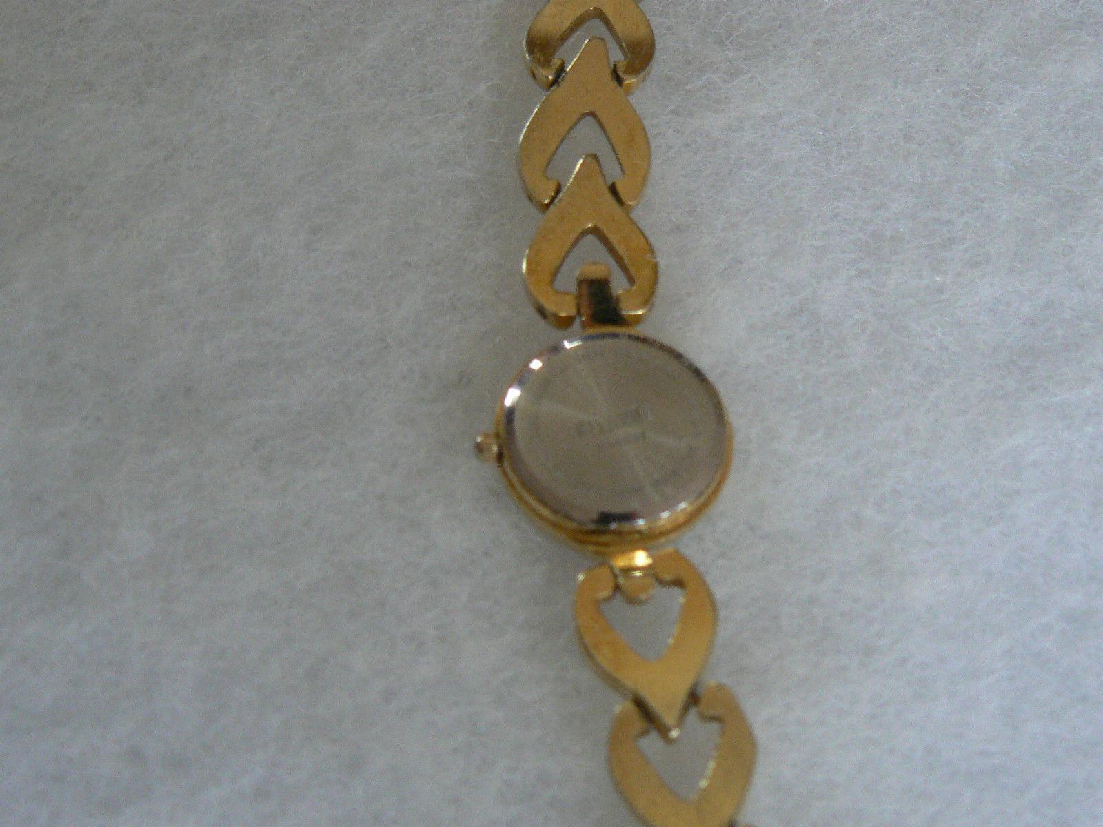Lovely Vintage Ladies Goldtone Futura Quartz Japan Movement Watch