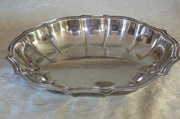 Vintage International Silver Chippendale Nut Dish #6385